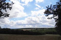 20120913 17 112 Jakobus Hügel Wald Wolken Feld Wiesen - Photo of Lias