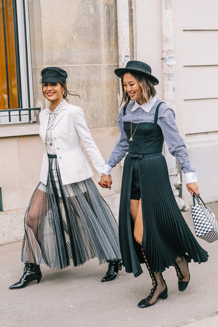 Best Street Style at Paris Fashion Week Fall 2018 trend street style fashion outfit winter3