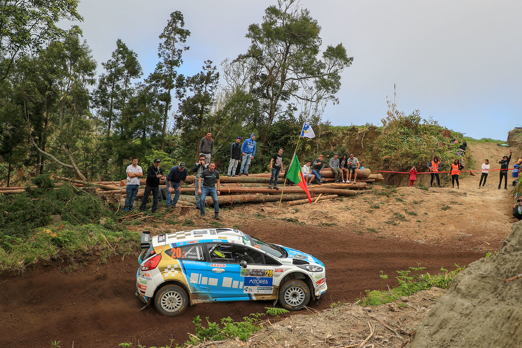 20 REGO Luis Miguel (prt), HENRIQUES jorge( (prt), FORD FIESTA R5 , action during the 2018 European Rally Championship ERC Azores rally,  from March 22 to 24, at Ponta Delgada Portugal - Photo Jorge Cunha / DPPI