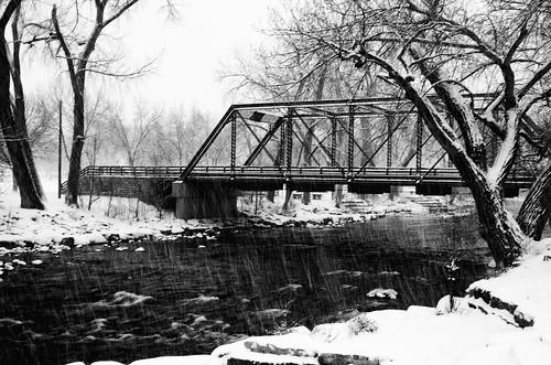 winter bridge silverefex snow