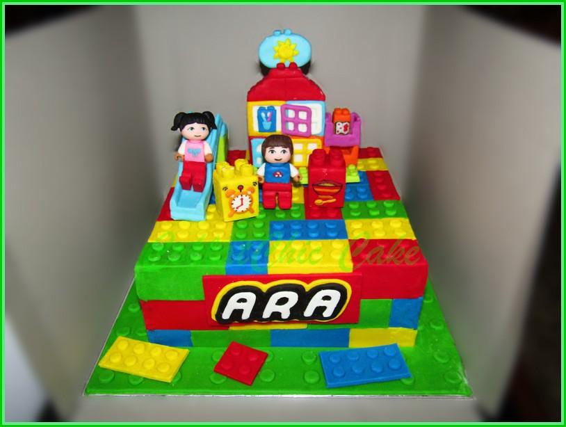 Cake Lego ARA 18 cm