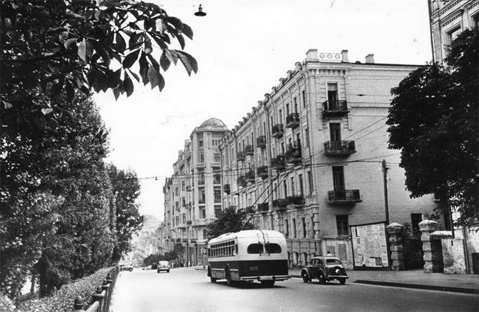 Бульвар Шевченко, 1955-й год