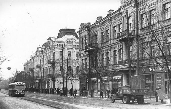 Улица Жданова (Сагайдачного), 1956-й год
