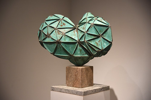 "Robert Black's ""Equilibrium"" (1982 - Brazed and patinated copper)"