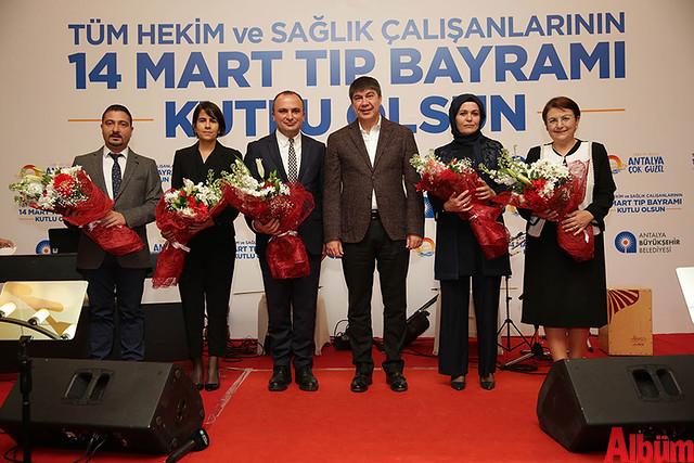 AntalyaBüyükşehir Belediyesi Tıp Bayramı Kutlaması