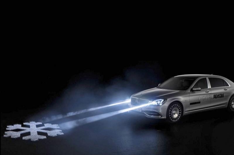 Les phares futuristes de Mercedes ne sont plus qu'un simple concept