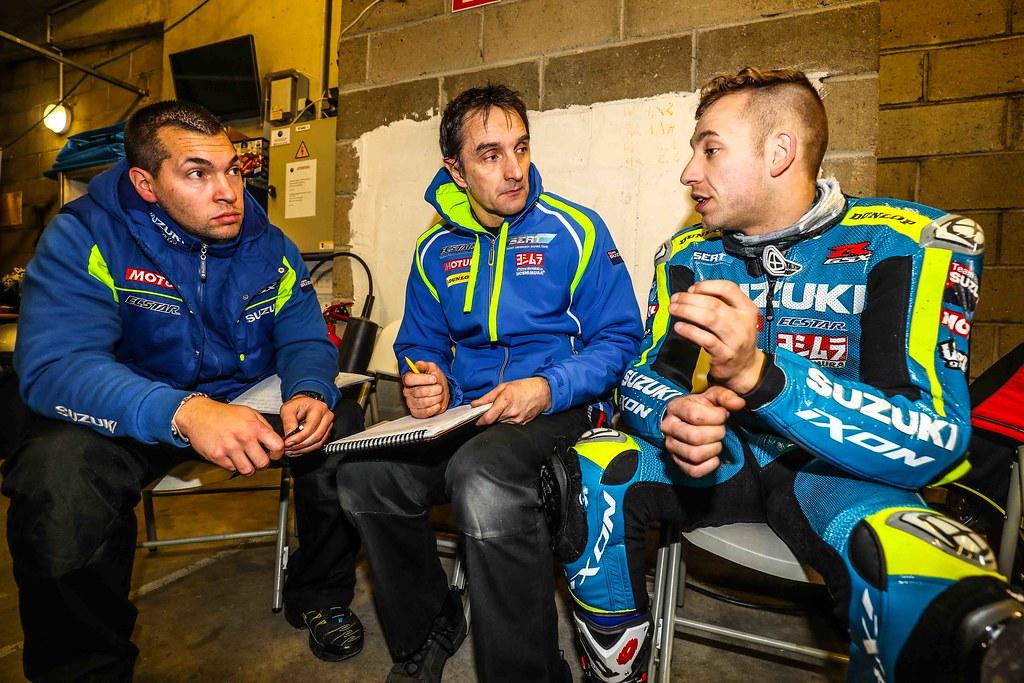 24h,Mans,Moto,2018,Test,Days,Team,Sert,Masson,Black,Philippe