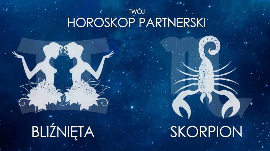 Horoskop partnerski Bliźnięta Skorpion