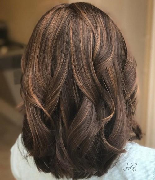 Medium Length Low Maintenance Layered Haircuts For Thick Hair 62