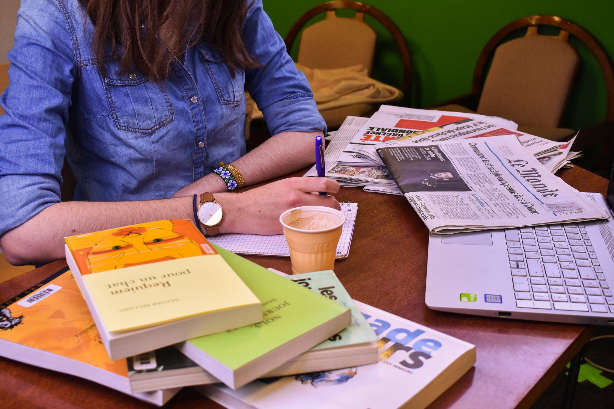 Journalistes, des romanciers pas comme les autres. Photo : Malvina Raud.