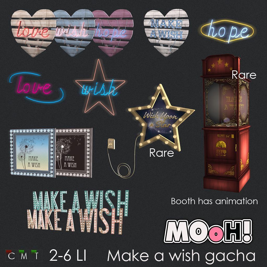 MOoH! Make a wish gacha - TeleportHub.com Live!