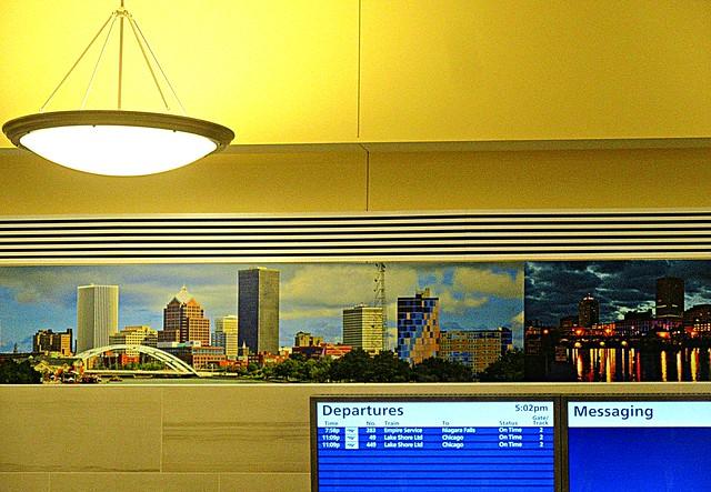 Rochester station murals