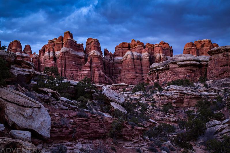 Elephant Canyon Afterglow
