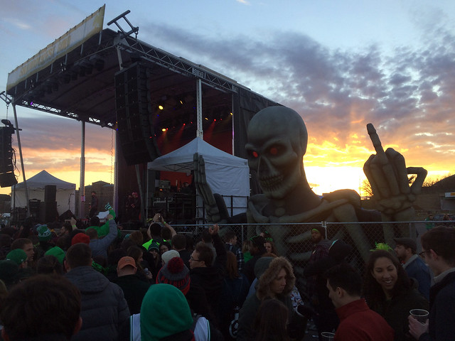 Sum 41 at sunset