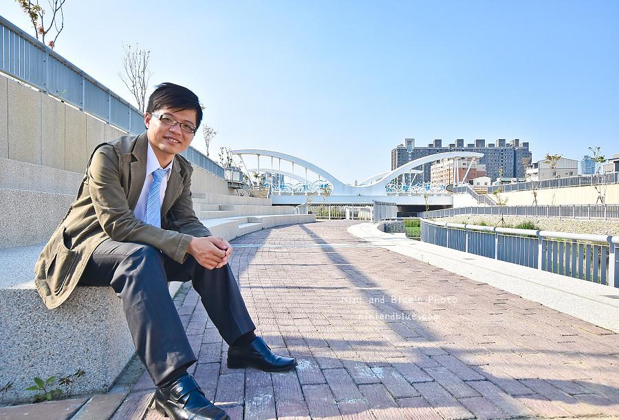 台中西川橋 景觀橋 愛心 玉音 崇倫 水岸13