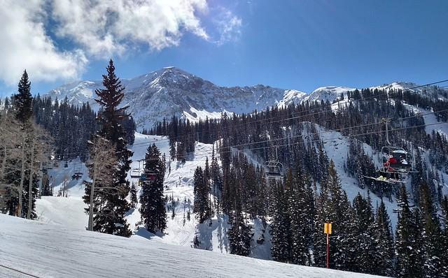 Snowbird scenery