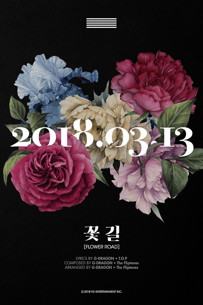 BIGBANG via _BBmusic - 2018-03-10 (details see below)