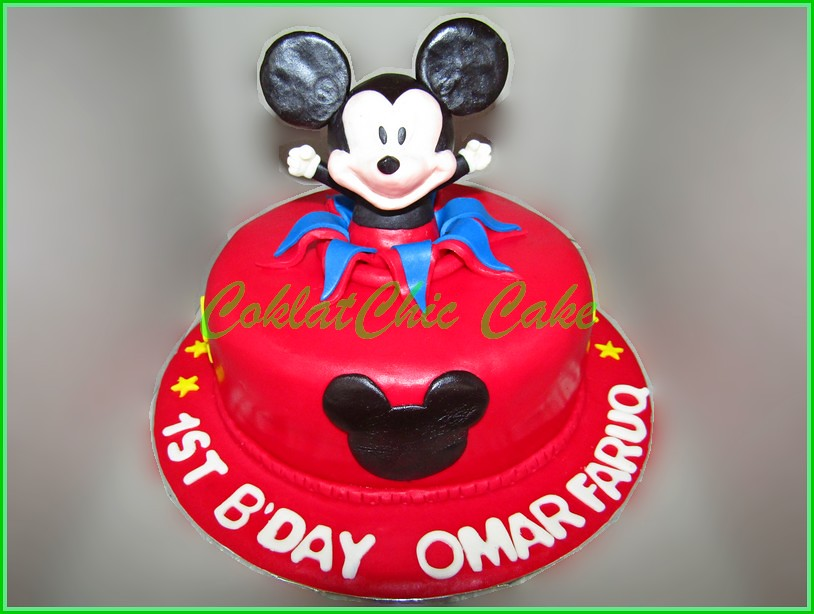 Cake Mickey Mouse OMAR FARUQ 18 cm