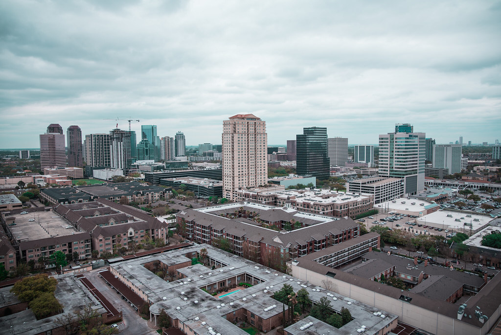 Downtown Houston and westheimer