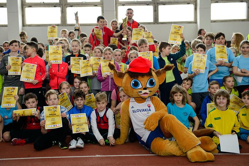 Galériu nájdete na Flickr Detskej atletiky