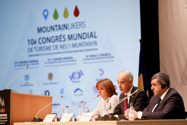 10th World Congress on Snow and Mountain Tourism - Andorra, 21 March 2018
