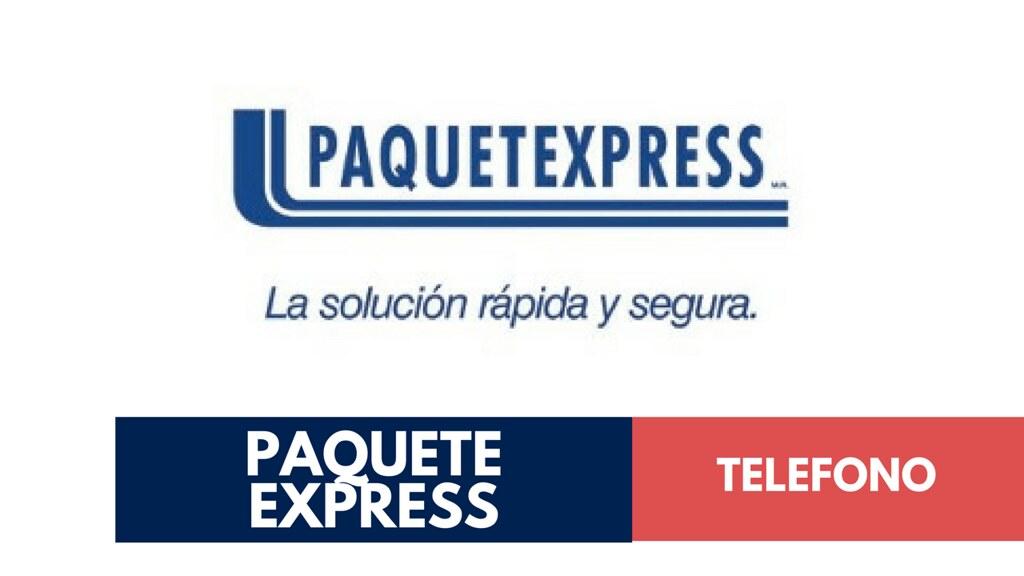 Paquete Express Telefono