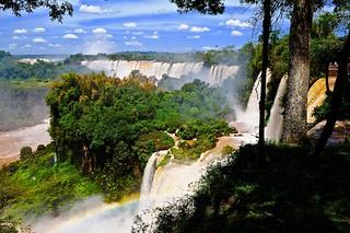 Mist & Rainbow at Iguazu   (view Large)