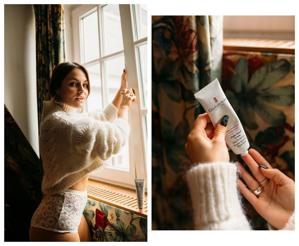 The Little Magpie Elizabeth Arden 8 hour cream Sheer Luxe London shoot