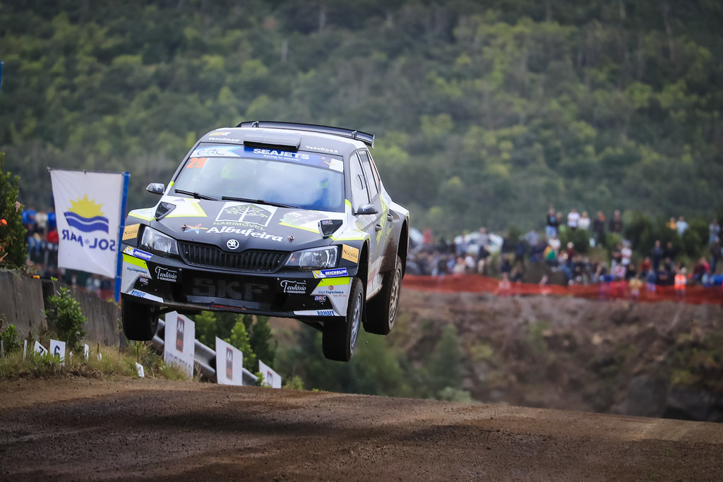 29 TEODOSIO Ricardo (prt), TEIXEIRA Jose (prt), SKODA FABIA R5, action during the 2018 European Rally Championship ERC Azores rally,  from March 22 to 24, at Ponta Delgada Portugal - Photo Jorge Cunha / DPPI