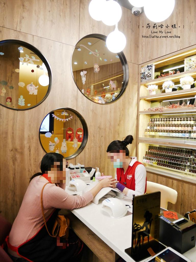 台北車站京站美食餐廳海底撈火鍋美甲服務