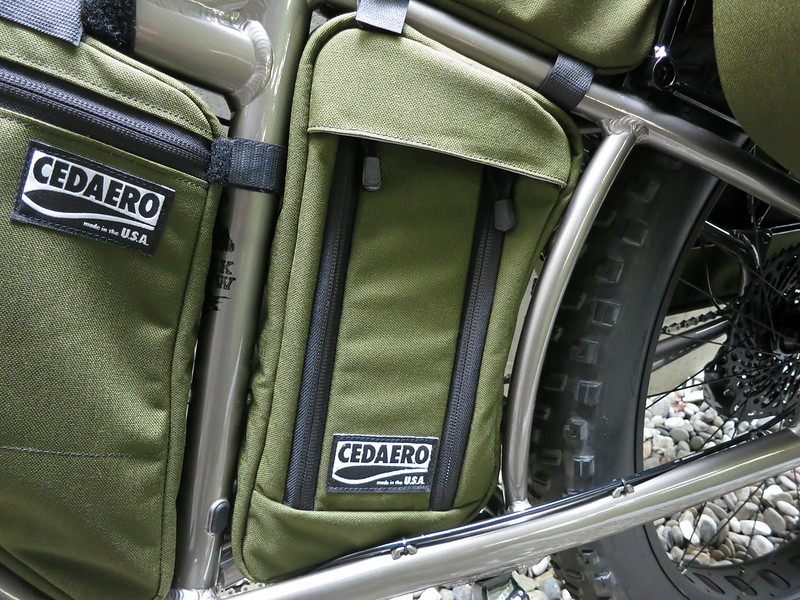 CEDAERO Blackborow Stowaway Frame Pack 2
