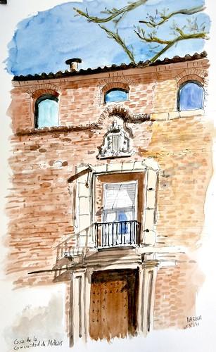Casa de la Comunidad de Aldeas. Daroca (Zaragoza)