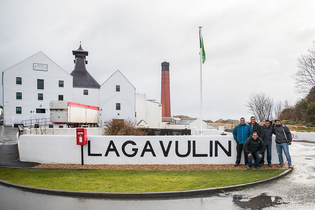 Arriving at Lagavulin