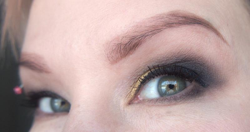 smoky eyes meikki