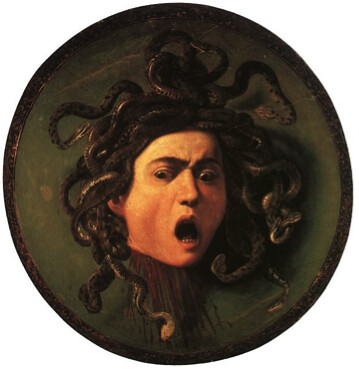 Medusa from the Greek myth