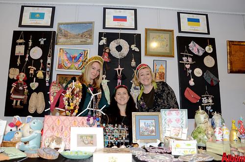 Dünya kadınları Alanya'daki sergide buluştu-3