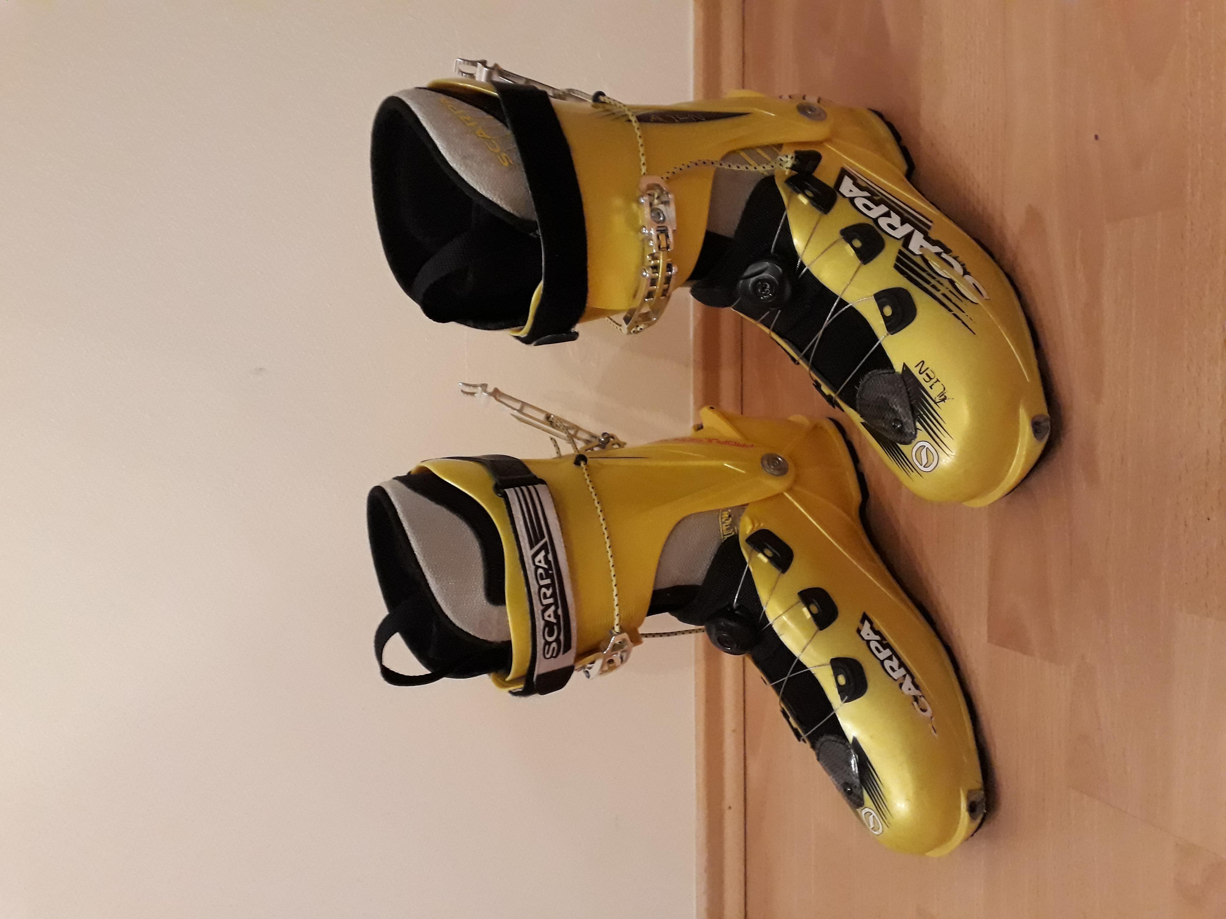 Predam lahke skialpove lyziarky Scarpa Alien - Bazar - SNOW.CZ 05d9cb3cfc0