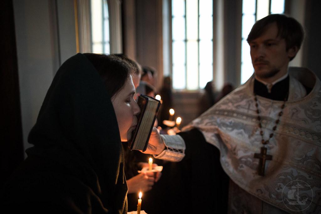 13 марта 2018, Таинство Елеосвящения (Соборование) / 13 March 2018, The Sacrament Of Holy Unction