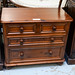 Solid wood pine stained chest of drawers E125