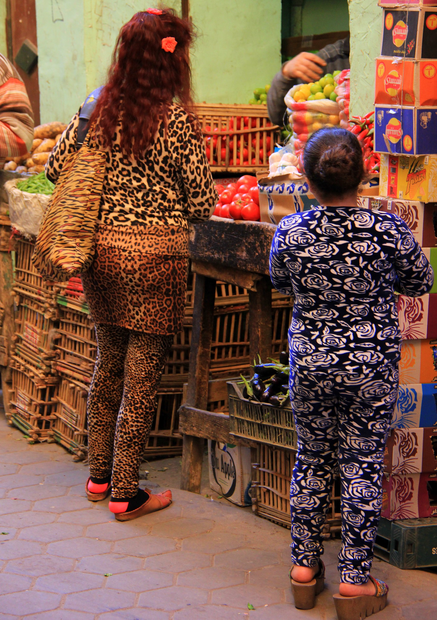 Shopping area in old cairo