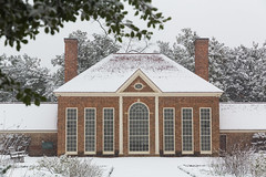 Snow in the Upper Garden