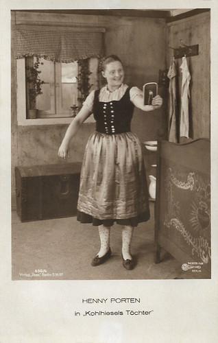 Henny Porten in Kohlhiesels Töchter (1920)