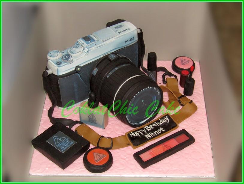 Cake Camera Fuji X-E2 NITNOT 15 cm