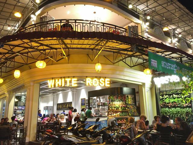 人気レストランホワイトローズ