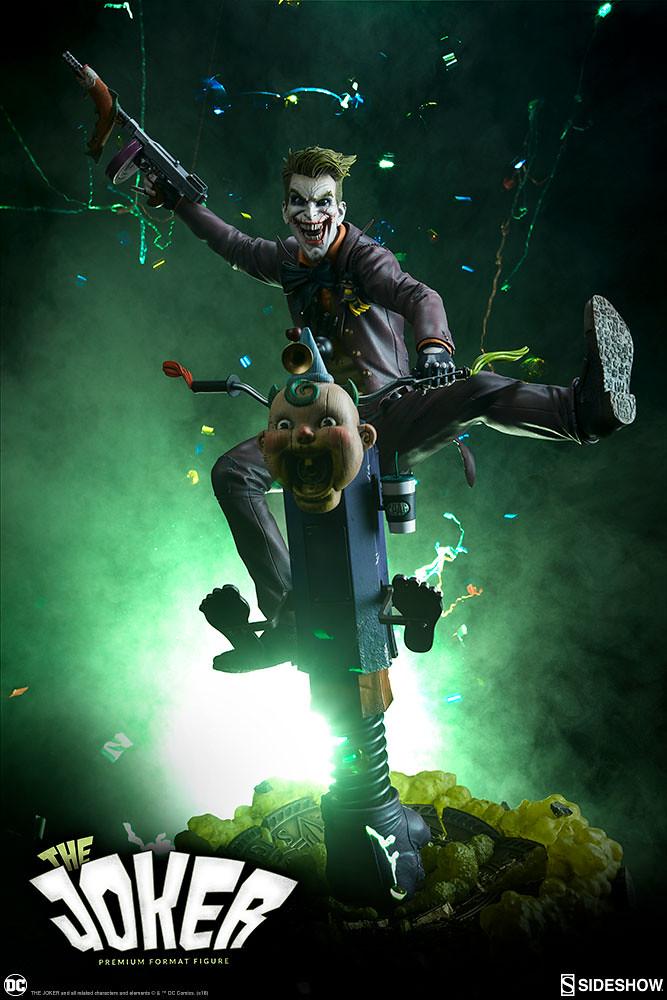 眾多極具巧思的設計使人大呼過癮~! Sideshow Collectibles Premium Format Figure 系列 DC Comics【小丑】The Joker 1/4 比例全身雕像作品