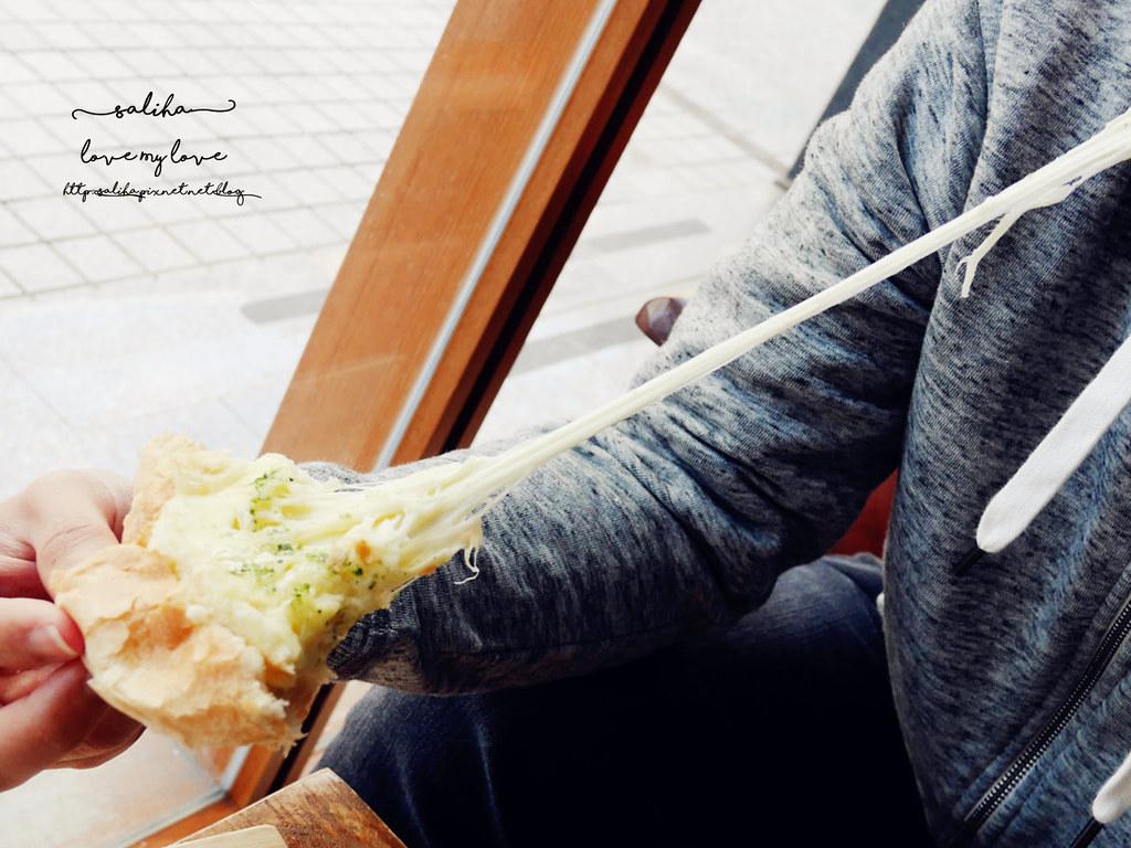 台北捷運松江南京站時安靜好咖啡館早午餐 (34)