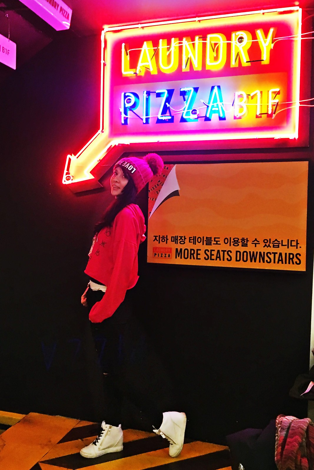 Laundry Pizza & Double Trouble - Gangnam - Seoul