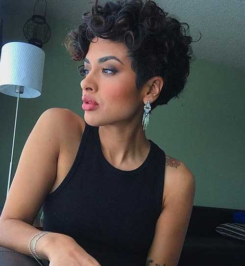 Curly Hair Trends 2018: Short Curly Hairstyles For Women 2018 Trends