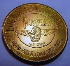 Federal Tires Medal obverse