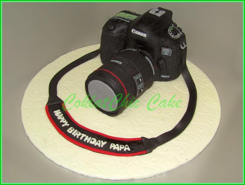 Cake Camera Canon EOS 5D PAPA